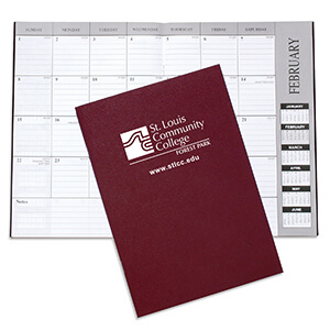 Item: 1607 - Academic Monthly Desk Planners