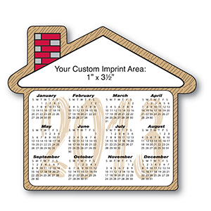 Item: Magnet-19056 - House Shape Magnetic Calendar
