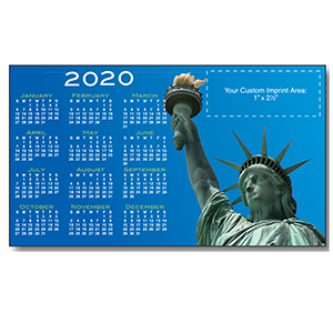 Item: Magnet-21739 - Lady Liberty Large Magnetic Calendars