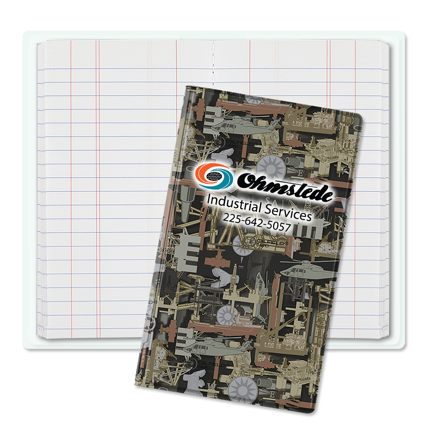 Item: 3430 - Oilfield Camo&#0153 Tally Book Jr.