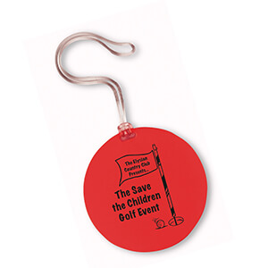 7417 - Round Bag Tag - CLOSEOUT