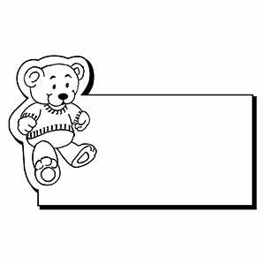 Item: Bear1 -  Indoor Notekeeper&#0153 Magnet