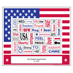 Item: Magnet-22106 - American Words Plus&#0153 Photo Frame