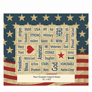 Item: Magnet-22117 - Military Words Plus&#0153 Photo Frame