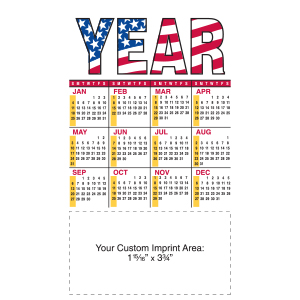 Item:  MG19195 -Large Magnetic Calendar
