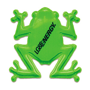 Item: RF365 - Reflective Frog Shape Stickers